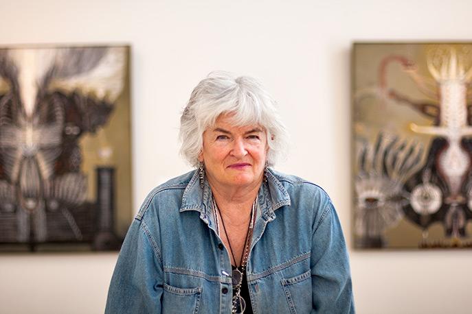 Cleone Cull - Fine Artist by Glenn Meyer, 2011