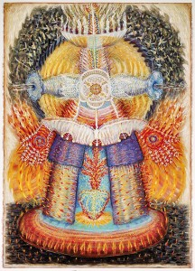 Queen of Heaven, Five Branched on Fire by Cleone Cull